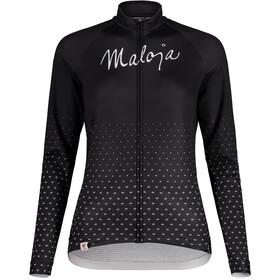 Maloja HaslmausM. 1/1 Long Sleeve Bike Jersey Women, moonless